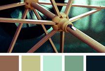 Uteplats bak colors