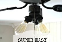 Ceiling fan makeovers