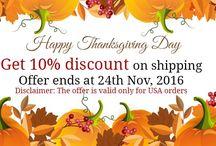 Thanksgiving Specials Offer - GujaratFood.com