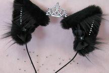 Gothic kitty little
