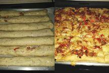 πιτσοκουλουρα και πιτσα