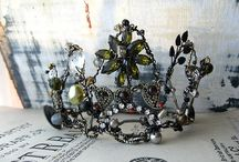 Crowns /  fantasy crowns, historical crowns, contemporary crowns