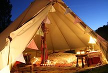 Bell tents /camping