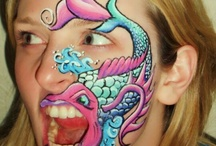 face paint fish