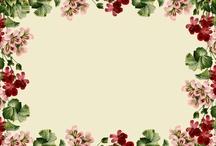 Çiçek davetiye
