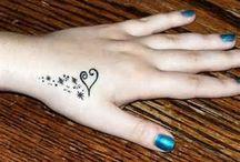 tatoeages son mum