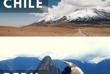 Chile, Peru e Bolívia