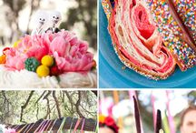Wedding Colours: Bright & Colourful / Great bright colourful combination inspiration for your wedding style.