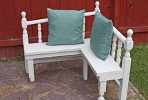 old furniture turned into new... / love the idea of revamping old furniture... / by Cisca de groot