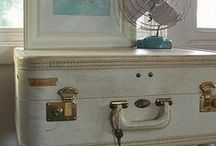 Vintage suitcase ideas