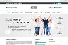 Website modellen. /  Bereken zelf de kosten van je website