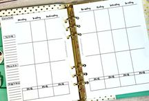 Planners / Planners and organizers to keep life running smoothly.