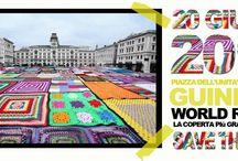 Cosa mi metto il 20 giugno???? / 20 giugno 2015  Italia - Trieste - Piazza Unità d'Italia Installazione della mega coperta e tentativo di entrare nel Guinness World Record per la coperta crochet più grande del mondo.... ... Una domanda sorge spontanea: cosa mi metto???