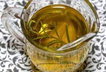Infused herb oils