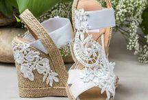 Alpargatas novia
