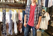 Bohemian Inspired Fashion Guys don't forget we have a small section for you with some easy layers!!