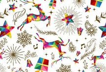X-mas Holiday Prints / Let your kitty celebrate special occasions in style with SNAP Wraps