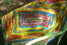 Fabric - crafts / Hook rugs