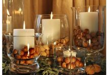 Fall decorations / by Beverly Andrews