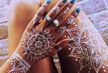 Henna tatoo