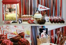 Baseball Champion Party / In order to throw a memorable Baseball Champion Party, a host should consider their own Game Plan. The list begins with the fun food ideas, drinks, and then finally seating for guests and family. Enjoy our list of baseball-themed party ideas!