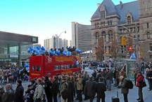 Parades and Special Events / Join the red bus in celebrating Toronto's many festivals and carnivals.