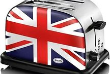 Union Flag everywhere! / Anglophile projects and products.