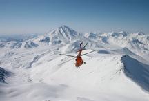 Heliskiing Kamchatka / Heliski  an Heliboarding in Kamchatka Russia http://www.heliskiing.ru