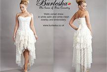 Wedding ideas / Wedding dress ideas by Burleska.co.uk