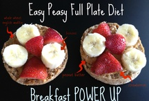 Full Plate Living Power Ups / Easy Power Ups for your breakfast, lunch or dinner created by the team at Full Plate Living to help you on your weight loss journey.  / by Full Plate Living