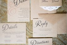 Italian wedding invites / Ideas for Joe & Beth's wedding stationery