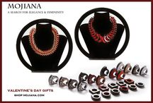 Mojiana Leather Jewelry / Innovative and unique leather jewelry by Mojiana www.mojiana.com