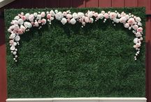 Wedding photo background  / Photo booth