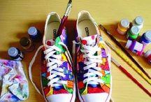 Decorated Converse