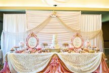 Backdrops and Drapery / Ideal for weddings, birthdays, babyshowers and bridal events