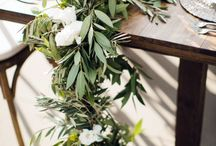 Olive Branch Decor / How to decorate with olive branches.