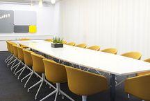 office modern yellow