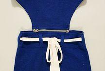 Maillots de bain 1920 / Présenter les maillots de bain utilisés dans les années 20 pour les festivaliers qui veulent profiter des belles plages de Biarritz !