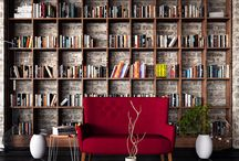 Apartment book shelf