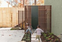 Gardens. Modern backyard gardens / Современные приусадебные сады