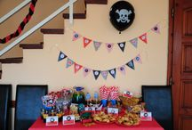 Beni's Pirate birthday party