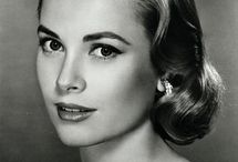Grace Kelly. Love the hair