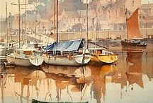 Paintings with Boats