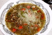 Copy cat recipes / Saysage and lentil soup
