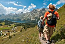 Hiking / Engadin is a hiking paradise! Stay with us and discover its beauty: www.niraalpina.com / by Nira Alpina