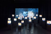 Video art installations