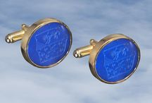 Gold Cufflinks / by CustomMade