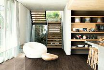 Hnědé podlahy / Brown floors