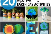 Earth Day Crafts and Activities / A collection of earth day crafts and eco-friendly activities to help celebrate Earth Day.