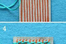 technika tkanina